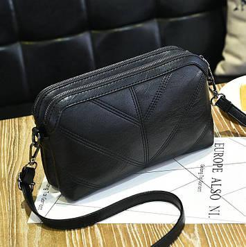 Женская сумка черная код 3-458
