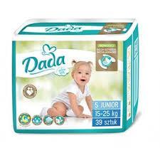 Подгузники DADA Extra Soft 5 ( 39 шт / 15-25 кг)
