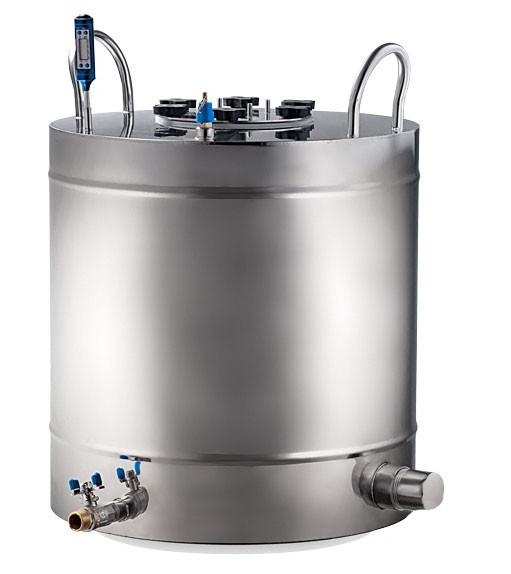 Ректификационная колонна AquaGradus Альфа - комплект 100 л - соединение кламп