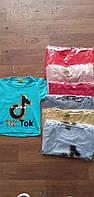 """Футболка детская для девочки с пайетками """"Tik Tok"""" размер 3-7 лет, цвет уточняйте при заказе"""
