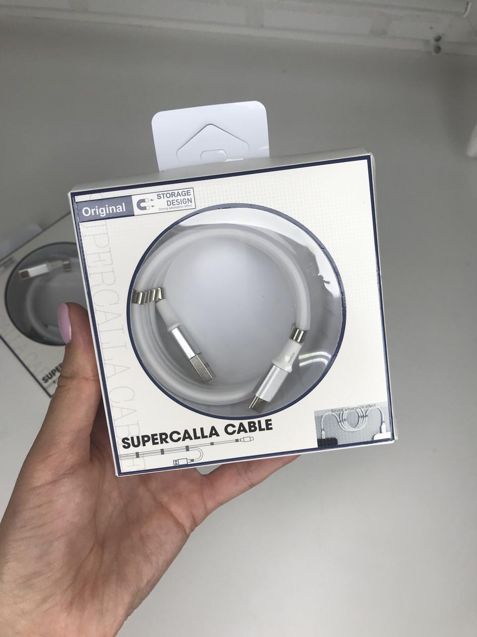 Магнитный кабель SuperCalla MICRO-USB