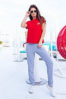 Спортивный трикотажный женский костюм