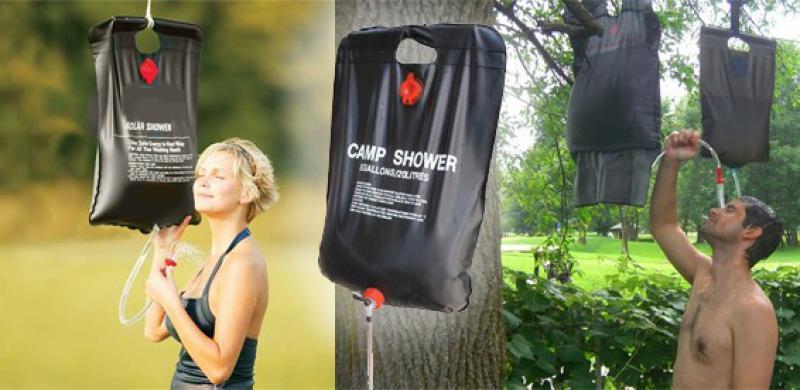 Душ походный портативный для кемпинга camp shower 20 литров