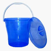 Ведро пластиковое 12 литров SoloPlast Элегант