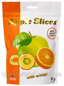 Слайсы яблучні сушені з апельсином Apple Slices, 50 г