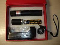 Фонарь-лазер красный 303 1-насадка