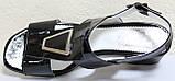 Босоножки на каблуке кожаные от производителя модель КЛ2164-1Р, фото 5