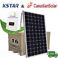 Комплект для сетевой солнечной станции