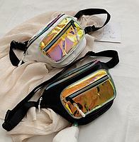Сумка на пояс с силиконовым карманом