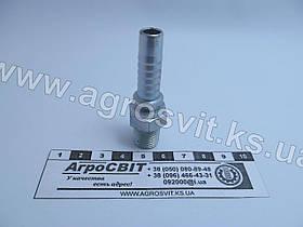 """Штуцер AGR-K 1/4""""-19  (под шланг dу=10 мм.)"""