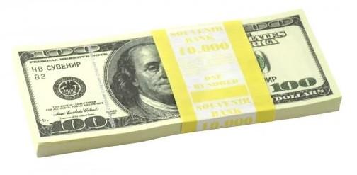 Сувенирные деньги 100 долларов ( $ )