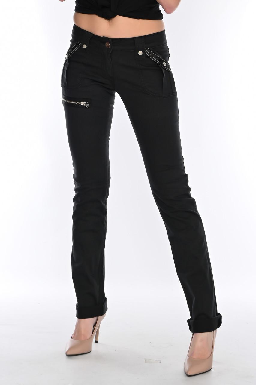 Женские брюки OMATjeans  9261-218 черные
