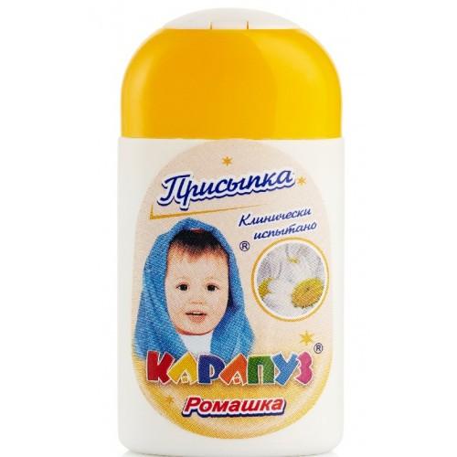 Присыпка детская КАРАПУЗ Ромашка 50 г