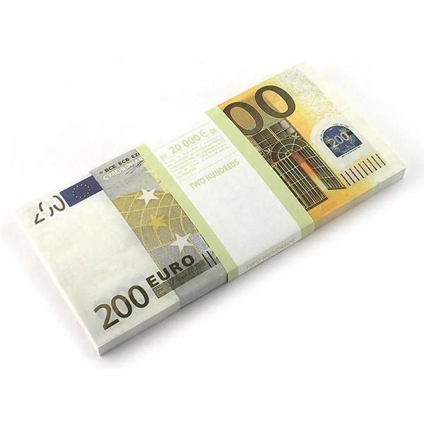 Сувенирные деньги 200 евро