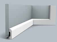 Плинтус гибкий напольный Orac Decor Axxent SX182F,(5x1.3x201 см),лепной декор из дюрополимера.