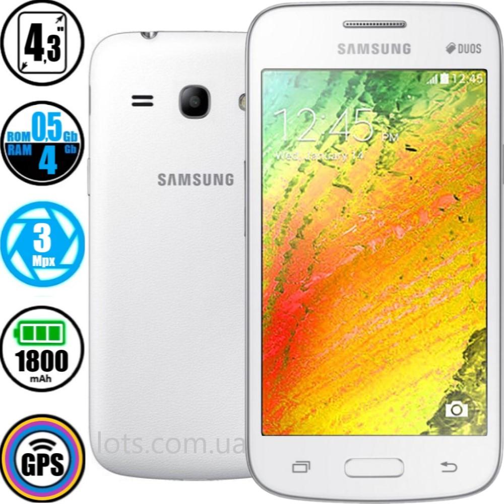 Смартфон Samsung Galaxy G350 Star Advance Dual Sim White + Подарок Защитное Стекло