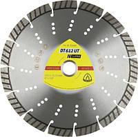 Алмазный отрезной круг DT612UT SUPRA 125X2,4X22,23