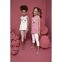 Комплект пижамный для девочек: майка и лосины Donella Kids (Турция) 4/5-10065 | 1 шт.