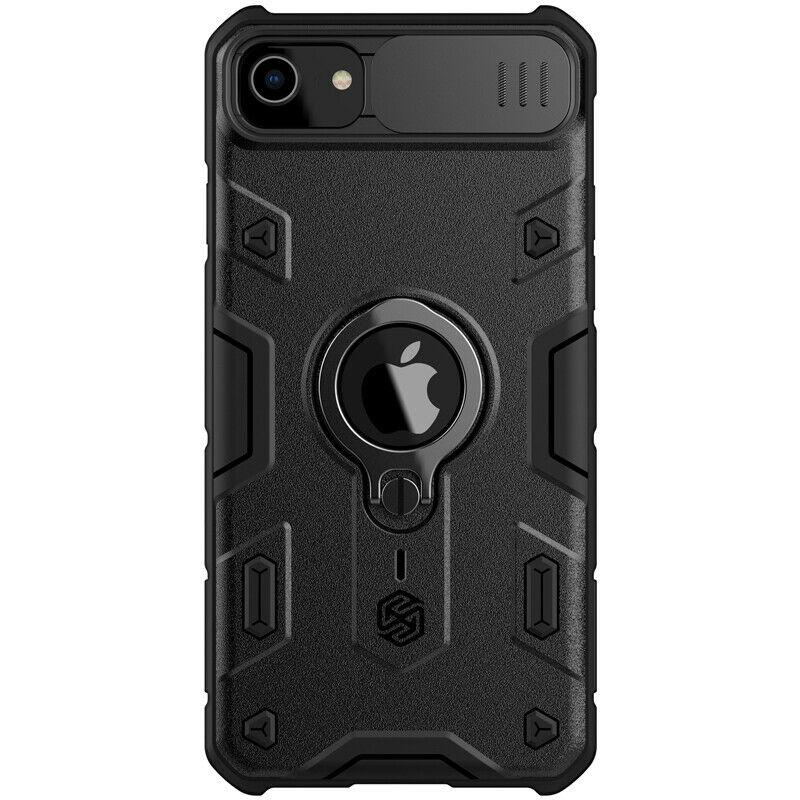 Nillkin iPhone SE (2020) / 7 / 8 CamShield Armor Case Black Чохол Накладка Бампер