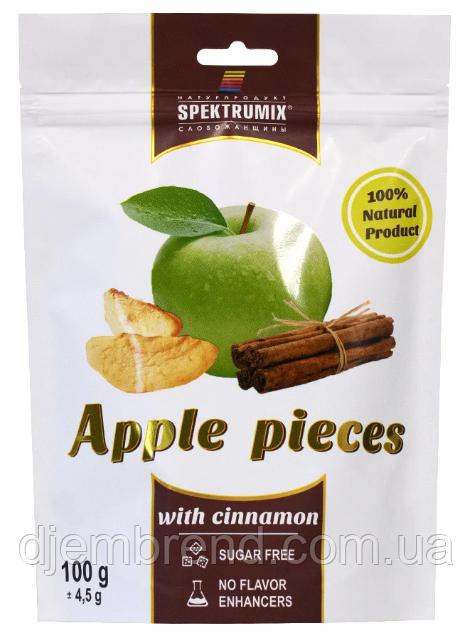 Ломтики яблочные сушеные с корицей Apple Pieces, 100 г