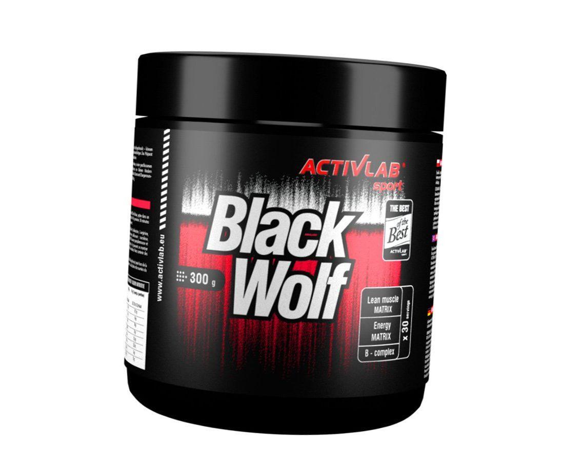 Предтренировочный комплекс ActivLab Black Wolf 300 g
