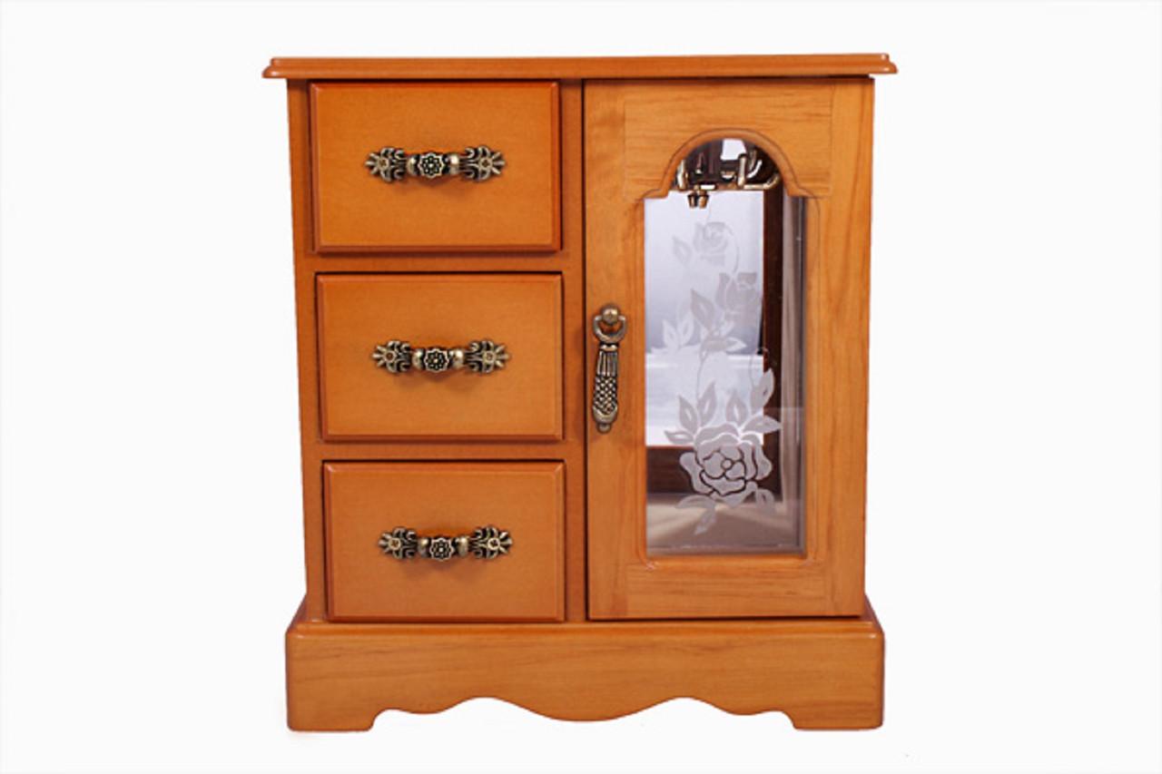 Шкафчик-шкатулка для украшений King Wood (JF-C3012A)