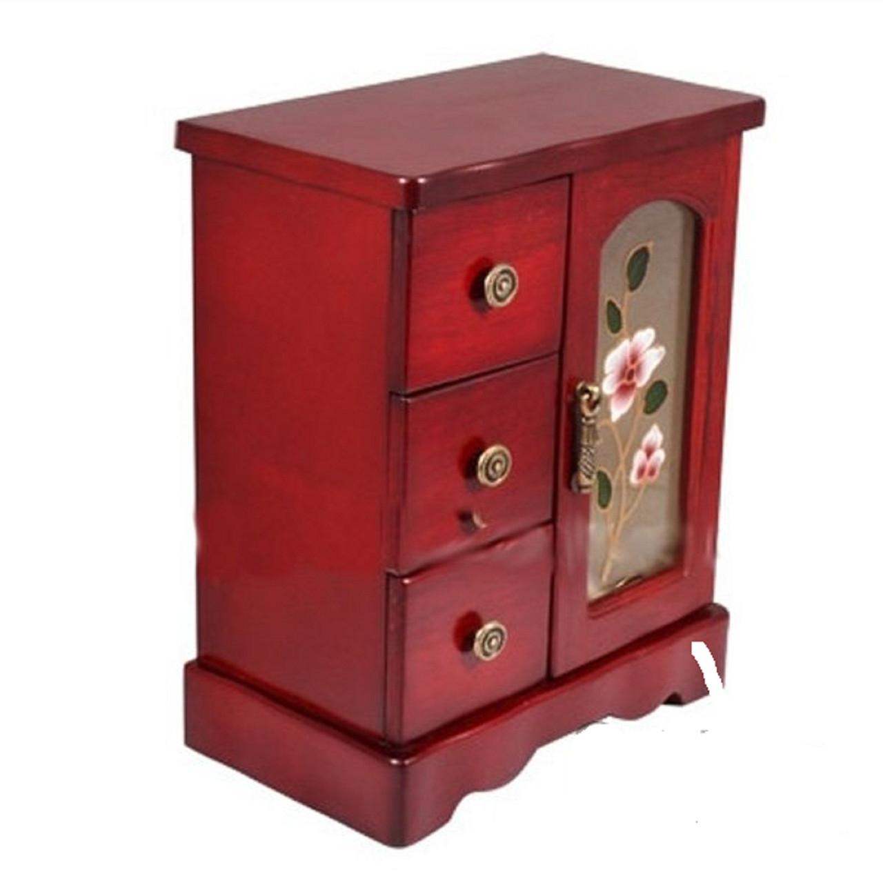 Шкафчик-шкатулка для украшений King Wood (JF-B3017C)