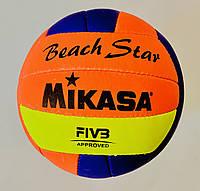 Мяч для пляжного волейбола BEACH STAR, фото 1