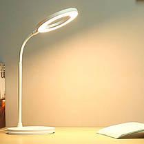 Настольная светодиодная лампа YAGE T404 LED светильник сенсорный 3 режима гибкий ночник 1200 мАч, фото 2