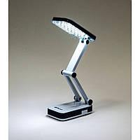 Настольный аккумуляторный светильник Feron DE1700 чёрно-белый, фото 1