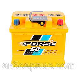 Акумулятор автомобільний Forse 6СТ-50 АзЕ Premium