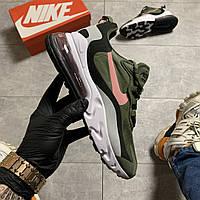 Мужские кроссовки Nike Air Max 270 React Green (Зелёный)