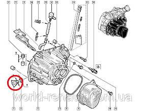 Renault (Франция) 7703075180 - Пробка картера КПП (контрольная) на Рено Меган 3, Рено Флюенс