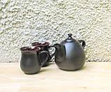 Чайний набір Велет з цукерничкою на 2 особи чорний, фото 2