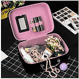 Кейс для косметики Котик черный 22x15 cm, фото 2