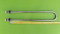 Тэн универсальный воздушный / водяной (из НЕРЖАВЕЙКИ) 1000Вт /штуцер Ø18мм / L=420мм (ДУГА) на КВАРЦЕВОМ ПЕСКЕ