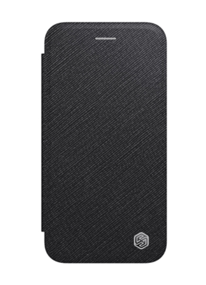 Nillkin iPhone SE (2020) / 7 / 8 Ming Leather Case Black Кожаный Чехол Книжка