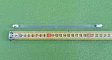 Нагреватель для галогеновых инфракрасных ОБОГРЕВАТЕЛЕЙ (лампа со спиралью)  400W / 220V / L=24см, фото 3