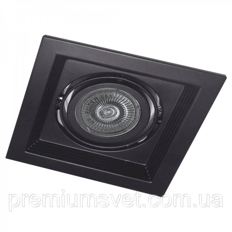 Точковий світильник DLT20 MR16/G5.3 чорний