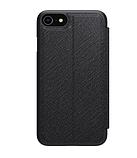 Nillkin iPhone SE (2020) / 7 / 8 Ming Leather Case Black Кожаный Чехол Книжка, фото 2