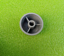Ручка серая №5 пластиковая для переключателей мощности, таймеров, терморегуляторов (0-3) Турция, фото 2