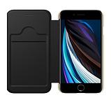 Nillkin iPhone SE (2020) / 7 / 8 Ming Leather Case Black Кожаный Чехол Книжка, фото 3