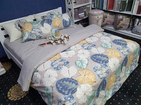 Постельное белье Флора бязь ТМ Комфорт-текстиль Полуторный, фото 2