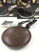 Электро блинница сковородка погружная Sinbo SP-5208 20 см, 650 Вт!