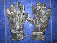 Перчатки тактические (теплые флисовые)