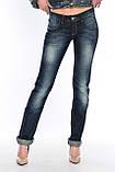 Женские джинсы OMATjeans 9571-807 синие, фото 3