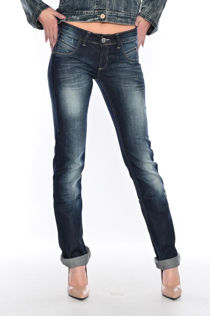 Женские джинсы OMATjeans 9571-807 синие
