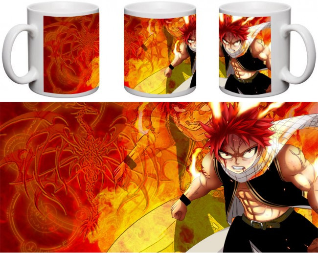 Кружка чашка  Fairy Tail - Нацу Драгнил