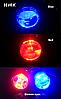 Линзы LED R2 ПТФ прожекторы. Прожекторы LED R2 дальнего света с дьявольскими глазами., фото 3