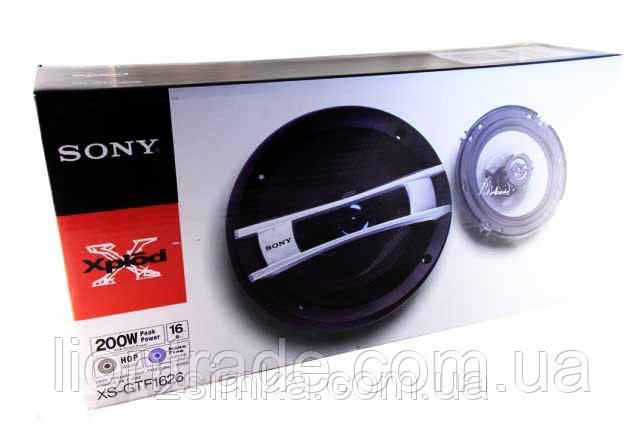 SONY XS-GTF 1626 (190W) двухполосные